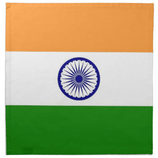 Indian Flag on MoJo Napkin