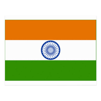 Indian Flag Post Card