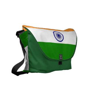 Indian Flag Rickshaw Messenger Bag