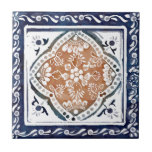 Indian Floral Tile 1