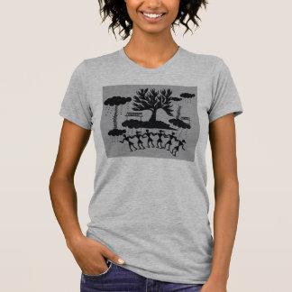 Indian Folk Art Music Binds All T-Shirt