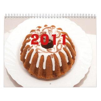 Indian Food Wall Calendar