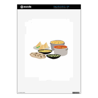 Indian Food Decal For iPad 2