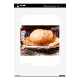 Indian fried snack decal for iPad 3