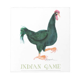 INDIAN GAME HEN, tony fernandes Scratch Pad