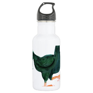 INDIAN GAME HEN, tony fernandes Stainless Steel Water Bottle
