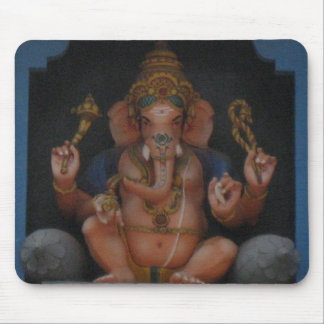 Indian Ganesh Mouse Pad