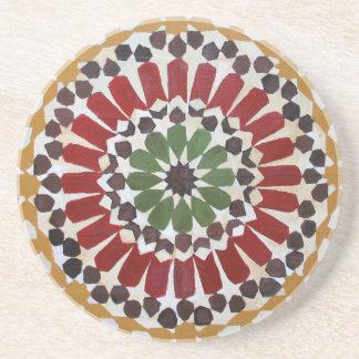 Indian Geometric Design Coaster