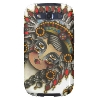 indian girl 3 galaxy s3 cover