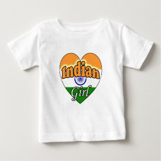 Indian Girl Baby T-Shirt