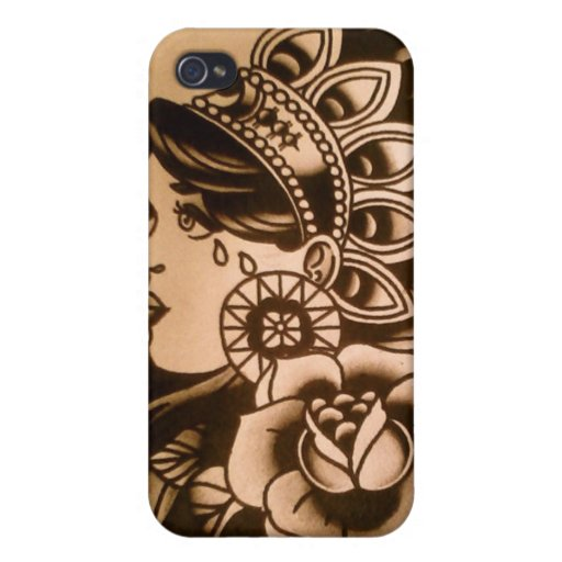 indian girl Iphone cover iPhone 4/4S Covers