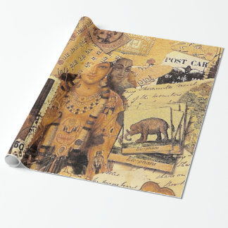 Indian Glories Wrapping Paper