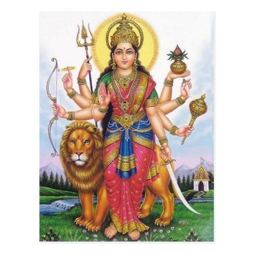 indian god post cards
