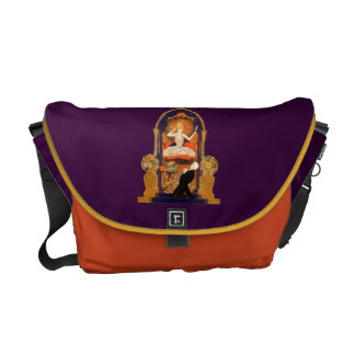 Indian Goddess Altar Woman Decoration Design Man Messenger Bag