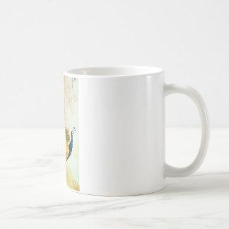 Indian Golden Peafowl Coffee Mug