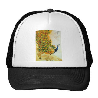 Indian Golden Peafowl Trucker Hat