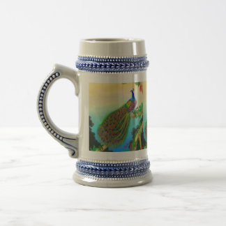 Indian Green Peacock Stein