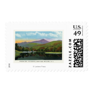 Indian Head and Shadow Lake View Postage Stamp