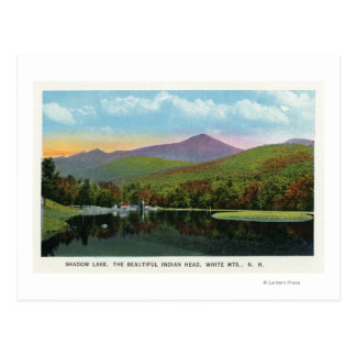 Indian Head and Shadow Lake View Postcard