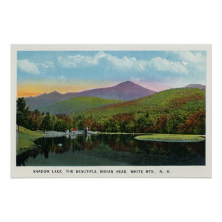 Indian Head and Shadow Lake View Poster