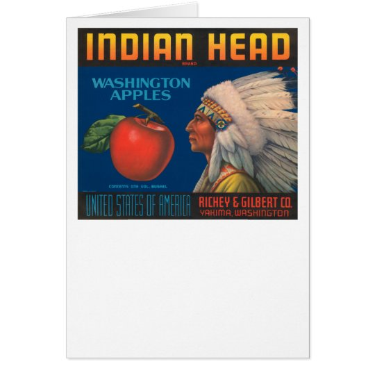 Indian Head Card