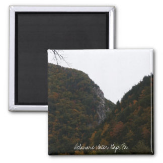 indian head, Delaware Water Gap, Pa. 2 Inch Square Magnet