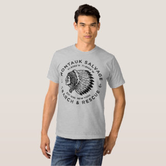 Indian Head / Montauk Salvage Company T-Shirt