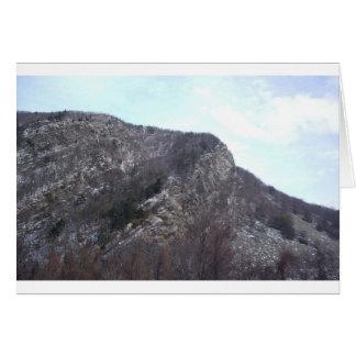 Indian head, Mount Tammany, NJ Card