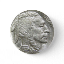 INDIAN HEAD NICKEL BUTTON