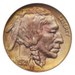 Indian Head Nickel Coin Collecting Decoration Party Plates