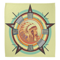 Indian Head Test Pattern Bandana