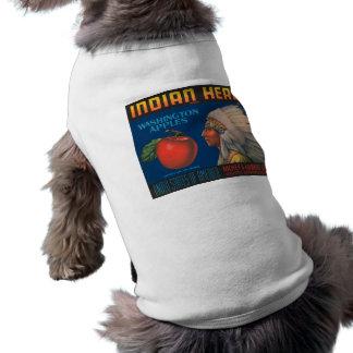 Indian Head Washington Apples Vintage Ad Shirt
