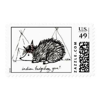 Indian Hedgehog Gene stamp