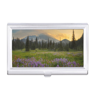 Indian Henry's Hunting Ground at sunrise Business Card Holder