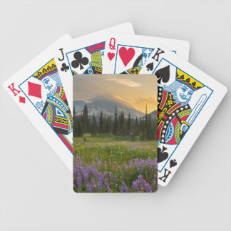 Indian Henry's Hunting Ground at sunrise Bicycle Playing Cards