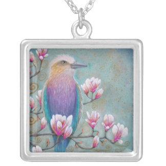 Indian Holi Bird Necklace