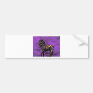 Indian Horse Bumper Sticker