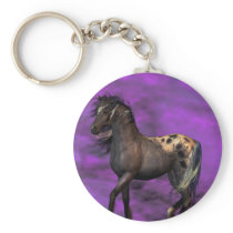 Indian Horse Keychain