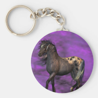 Indian Horse Keychain