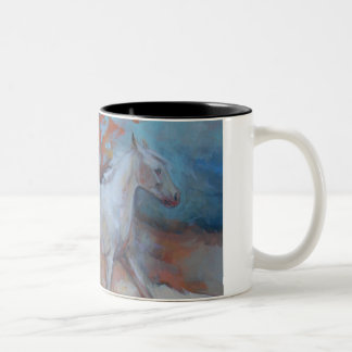 Indian Horse Mug In the Fall By Jenn Danza