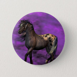 Indian Horse Pinback Button
