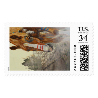 Indian horse postage
