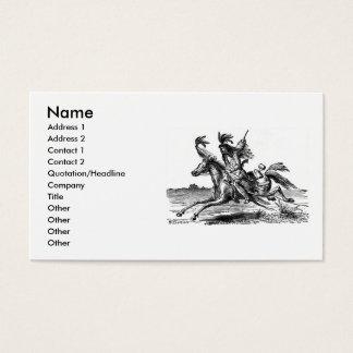 Indian Horseback Business Card
