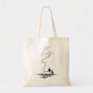 Indian in His Solitude by NC Wyeth, Vintage West Tote Bag