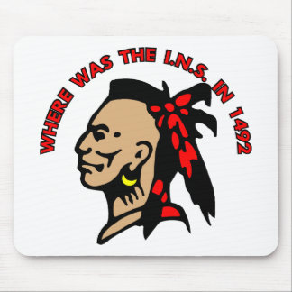 Indian Ins 1492 Mouse Pad