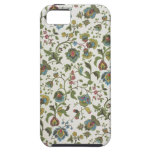 Indian-inspired, floral design wallpaper, 1965-75 iPhone 5 covers
