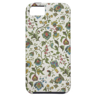 Indian-inspired, floral design wallpaper, 1965-75 iPhone SE/5/5s case