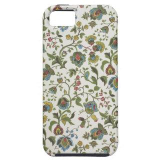Indian-inspired, floral design wallpaper, 1965-75 iPhone SE/5/5s case