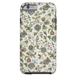 Indian-inspired, floral design wallpaper, 1965-75 tough iPhone 6 case