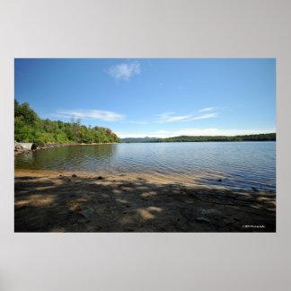 Indian Lake in the Adirondacks print 08 036